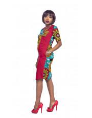 Tinu African Short Dress