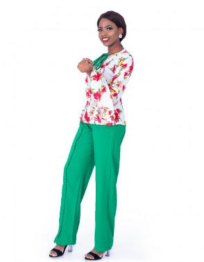 Floral Top & Pants Set