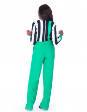 Mono-green Jumpsuit