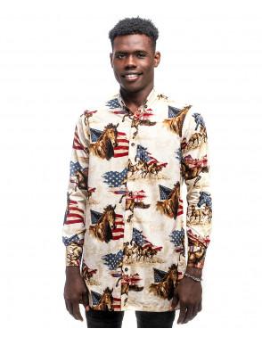 Omal Urban Print Shirt