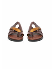 Brown Mix Slippers