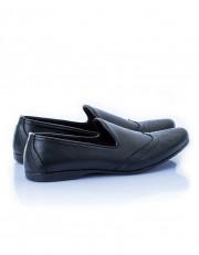 Leather Slip-on - Black