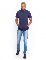 Oversized Tshirt With Kangaroo Pocket
